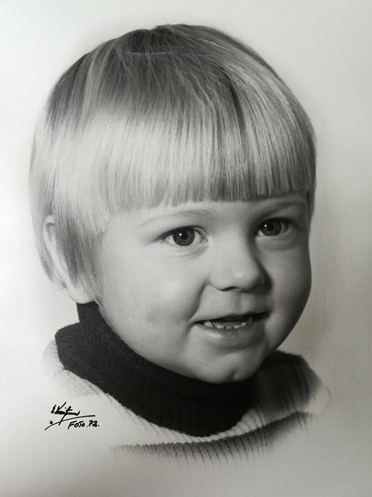 Klavs baby photo