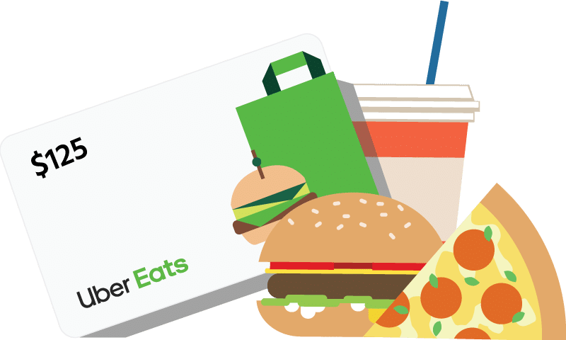 Uber Eats gift card for referring Procare